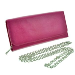 Handbags - Leatherette / Clutch / Evening Bag W/ Chain Strap
